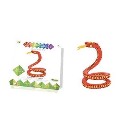 CreativaMente Creagami: Small Snake/Slang (Origami)