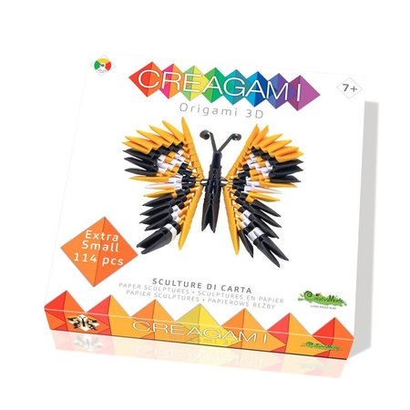 CreativaMente Creagami: Extra Small Butterfly/Vlinder (Origami)