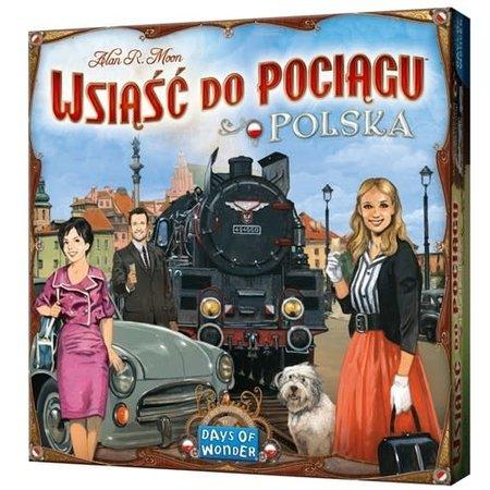 Days of Wonder Ticket to Ride: Polska