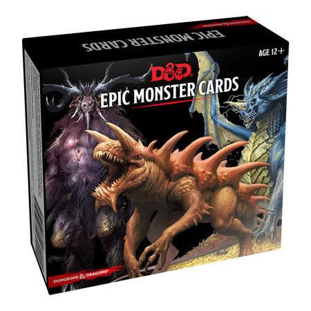 GaleForce Nine D&D Spellbook Cards Monster Cards Epic Monsters