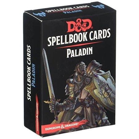 GaleForce Nine D&D Spellbook Cards Paladin