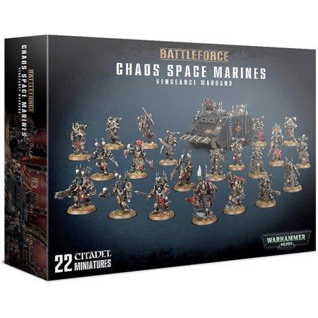 Games Workshop Chaos Space Marines Battleforce