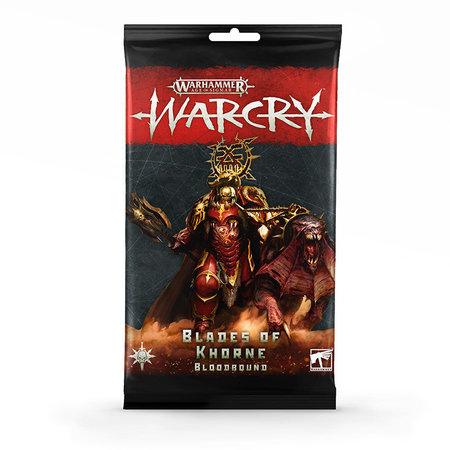 Games Workshop Warcry: Blades of Khorne Bloodbound  Rule Cards