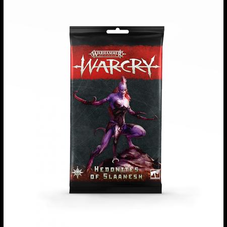 Games Workshop Warcry: Hedonites of Slaanesh Rule Cards