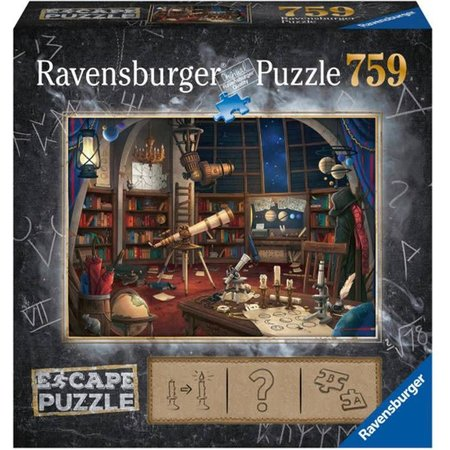 Ravensburger Escape puzzle: Tempel Ankor Wat (759)