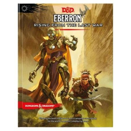 Wizards of the Coast D&D Eberron Rising From The Last War