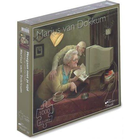 Art Revisited Meegaan met je Tijd - Marius van Dokkum (1000)