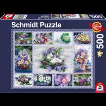 Schmidt Puzzle: Bloemenboeket (500)
