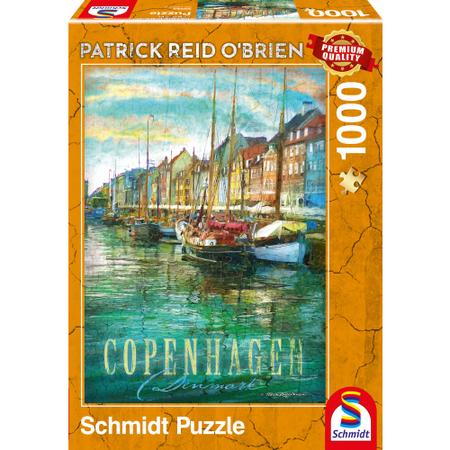 Schmidt Schmidt Puzzle: Kopenhagen (1000)