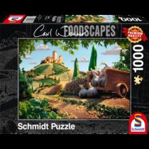 Schmidt Puzzle: Toscaans landschap (1000)
