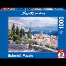 Schmidt Puzzle: Over de daken van St. Tropez (1000)