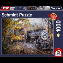 Schmidt Puzzle: Fascinatie voor het spoor (1000)