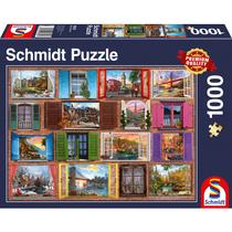 Schmidt Puzzle: Raam open! (1000)