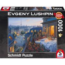 Schmidt Puzzle: Romantische avond in Parijs (1000)