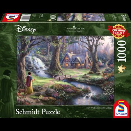 Schmidt Disney snow white discovers the cottage  (1000)