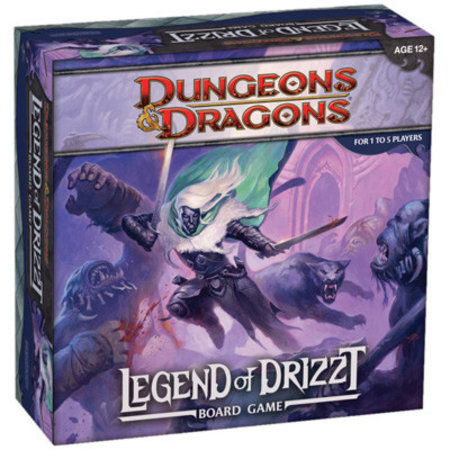 Wizards of the Coast Dungeons & Dragons: The Legend of Drizzt (boardgame)
