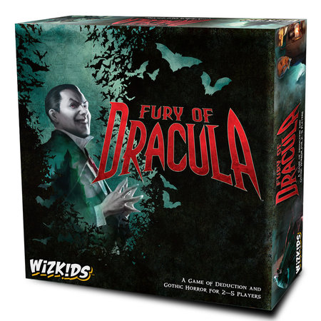 WizKids Fury Of Dracula 4th edition**