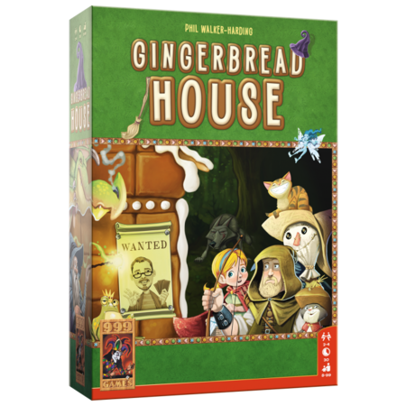 999-Games Gingerbread House