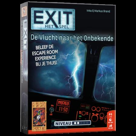999-Games EXIT - De vlucht naar het onbekende