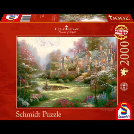 Schmidt Thomas Kinkade: Gardens Beyond Spring Gate (2000)