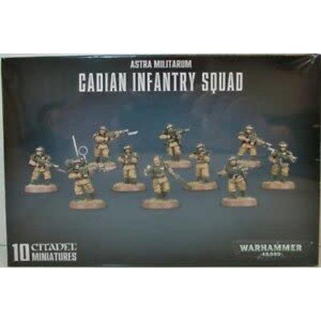 Games Workshop Warhammer 40,000 Imperium Astra Militarum: Cadian Shock Troops