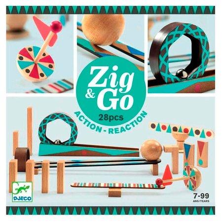 Djeco ZIG & GO - Zig & Go - 5640 - 28 pcs