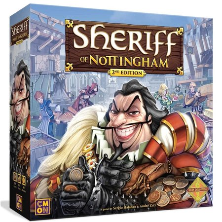 Cool Mini or Not Sheriff of Nottingham 2nd Edition