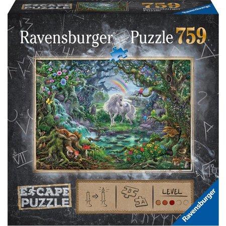 Ravensburger Escape puzzle: De Eenhoorn (759)