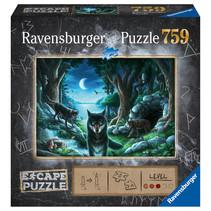 Escape puzzle: De Roedel Wolven (759)