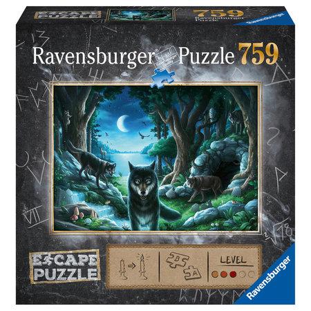 Ravensburger Escape puzzle: De Roedel Wolven (759)