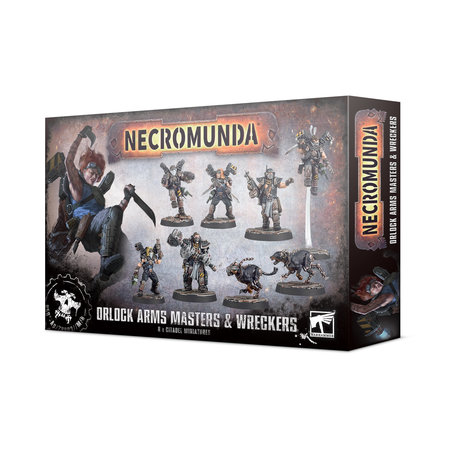 Games Workshop Necromunda: Orlock Arms Masters & Wreckers