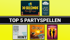 Top 5 partyspellen van 2020