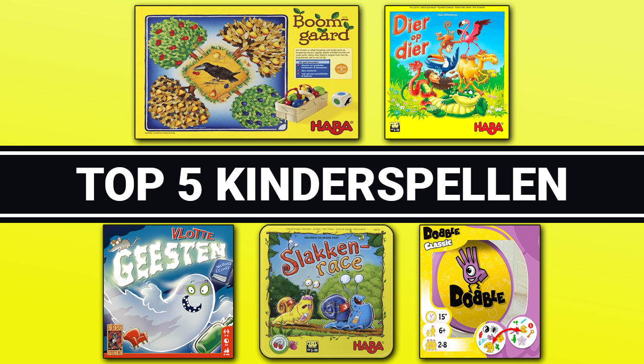 Top 5 kinderspellen van 2020