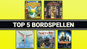 Top 5 bordspellen van 2020
