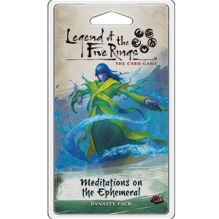 Fantasy Flight Legend of the Five Rings LCG: Meditations on the Ephemeral (Eng)
