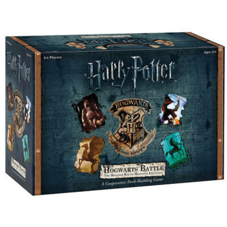 USAOpoly Harry Potter: Hogwarts Battle The Monster Box (Eng) - Uitbreiding