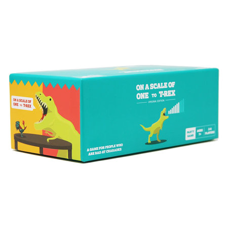 Exploding Kittens On A Scale of One to T-REX (Eng)