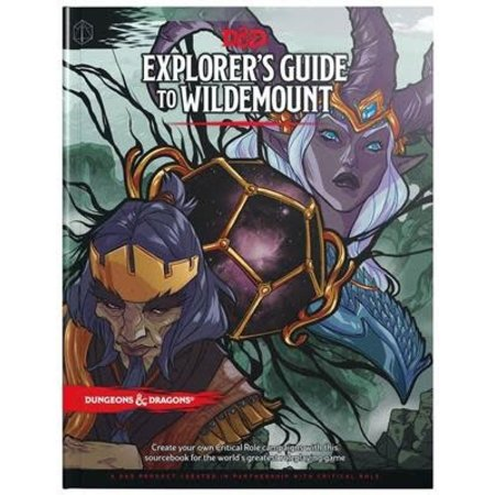 Wizards of the Coast D&D 5.0: Explore's Guide to Wildemount