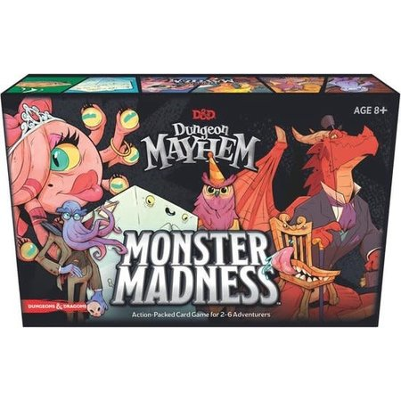 Wizards of the Coast D&D Dungeon Mayhem Monster Madness (Eng)