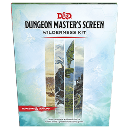 Wizards of the Coast D&D 5.0 - Dungeon Master's Screen Wilderness Kit