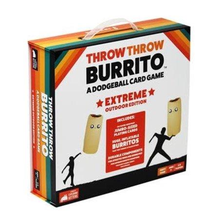 Exploding Kittens Throw Throw Burrito Extreme Outdoor Ed. (Eng)