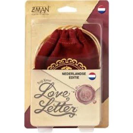 Z-Man Games Love Letter NL (Nieuwe edite, Bag)
