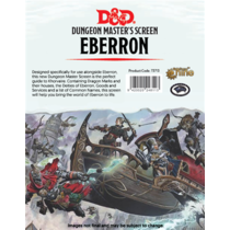 D&D DM Screen Eberron