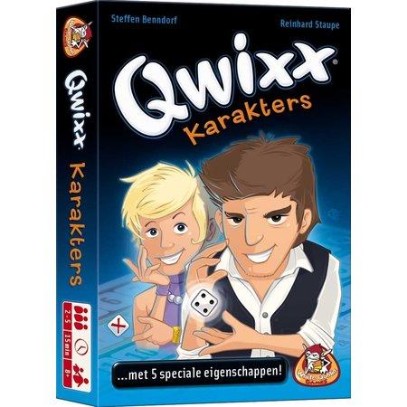 White Goblin Games Qwixx karakters - Uitbreiding