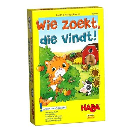 Haba Spel - Wie zoekt, die vindt!