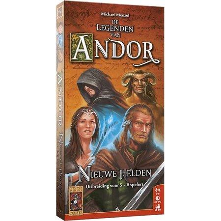 999-Games De Legenden van Andor: Nieuwe Helden  - Uitbreiding