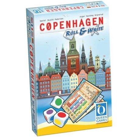 Queen Games Copenhagen Roll & Write