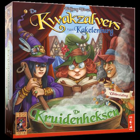 999-Games De Kwakzalvers van Kakelenburg: De Kruidenheksen - Uitbreiding