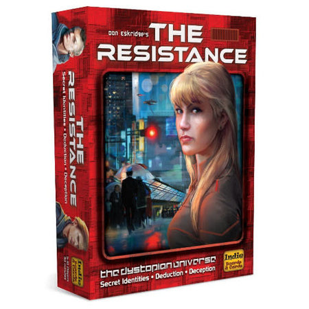 Indie Board Games The Resistance (Eng)