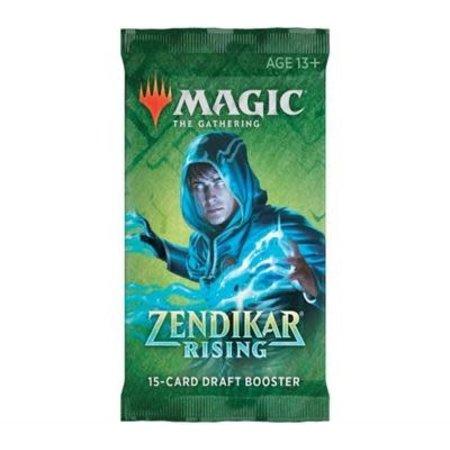 Wizards of the Coast MTG ZNR Zendikar Rising Booster